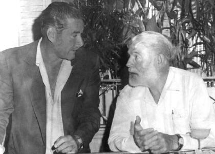 Errol Flynn – Ernest Hemingway