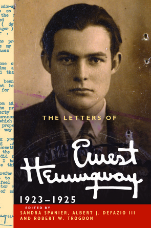 Letters of Ernest Hemingway Volume 2 book jacket